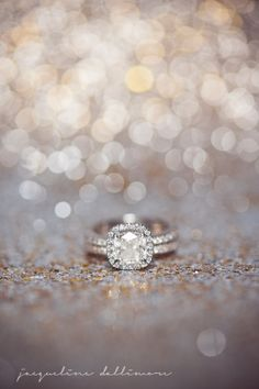 Cushion cut diamond ring : photo by jacqueline dallimore