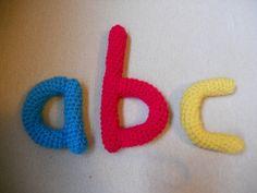 Ravelry: Amigurumi Style Alphabet pattern by Karen Janine