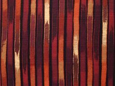Ikat Stripes in Ruby #Textiles #Lamontage #Oxblood #Rugs #Wallcoverings #Fabric