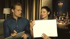 Which means our favourite onscreen couple, Sam Heughan (aka Jamie Fraser) and Caitriona Balfe (aka Claire Randall/Fraser), will be on our screens once more. Outlander 2016, Outlander Season 1, Sam Heughan News, Outlander Interviews, Caitriona Balfe Outlander, Laura Donnelly, Richard Rankin, Academy Of Music, Outlander Tv Series