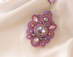 Amazing soutache bracelet by aizhandossum on Etsy