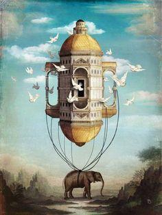 """""""Imaginary Traveler by Christian Schloe """""""