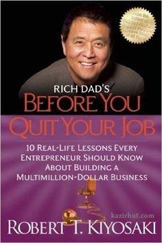 18 books by Robert kiyosaki (Author of Rich Dad Poor Dad)