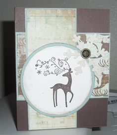 Chocolate Chip Dasher by Amisjag - Cards and Paper Crafts at Splitcoaststampers