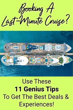 Booking a last minute cruise can be an amazing opportunity to save money and have a wonderful vacation at a random time in the year! Learn the best last minute cruise tips to help ensure you get the best prices, have the best experience, and more! Cruise Destinations, Family Vacation Destinations, Cruise Vacation, Vacation Trips, Vacations, Packing List For Cruise, Cruise Tips, Last Minute Cruises, Booking Information