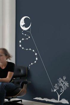 """Moon Kite"" ....idea for painting:"
