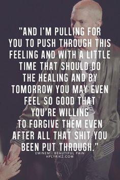 Eminem beautiful pain
