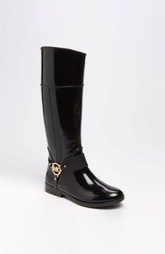MICHAEL Michael Kors 'Fulton' Rain Boot Black #http://www.shoeniverse.info/