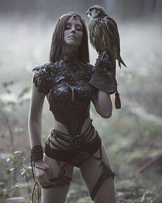 kom naar mama🔥my ontwerpen van beste Agnieszka Lorek❤ muse @ forest_spirit_art . Dark Fantasy, Fantasy Girl, Foto Fantasy, Chica Fantasy, Fantasy Women, Fantasy Witch, Fantasy Images, Fantasy Artwork, Fantasy Warrior