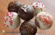 Cake pops  (Nyalóka süti) recept fotóval