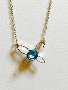Navi necklace, by @machine_0091 | #geek #Zelda #jewelry