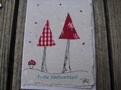 Handgeschöpfte Karte im hohen Tann von einfach-B auf DaWanda.com