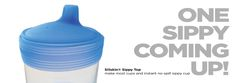 Turn any cup into a sippy cup with #silikids #sippycup #siliconetop