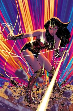 El Noveno Arte — bear1na: Wonder Woman #768 variant cover -...