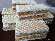Vytlačiť Grilážové rezy Autor: ekinocka Náročnosť:ľahká Príprava surovín: 10 min Tepelná príprava: 20 min Spolu: 30 min Ingrediencie tortové oplátky maslo 250 g salko /kondenzované mlieko/ 1 plechovka cukor kryštálový 250 g orechy Condensed Milk Cake, Cupcakes, Pancakes And Waffles, Muffins, Cheddar Cheese, Vanilla Cake, Deserts, Food And Drink, Cooking Recipes