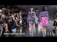 ELLETV-Mary Katrantzou 2014 SS Fashion Show