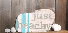 Beach House Sign Vintage &  Weathered Handpainted   by sogigi, $25.00