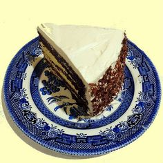 One Perfect Bite: Mocha Whipped Cream Cake with Bavarian Cream Filling