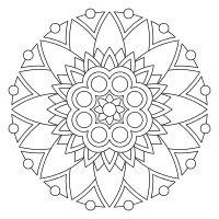 Print and color mandalas online Mandala Art, Mandala Design, Mandalas Painting, Mandalas Drawing, Mandala Pattern, Dot Painting, Zentangles, Sun Mandala, Sunflower Mandala