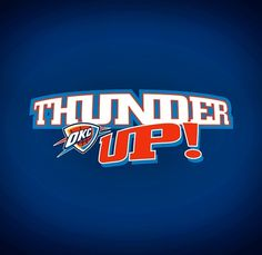 Thunder up #okcthunder