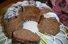 jablko-perníková bábovka Bunt Cakes, Cooking Recipes, Healthy Recipes, Sweet Cakes, French Toast, Cheesecake, Muffin, Dessert Recipes, Food And Drink