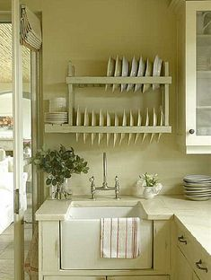 My ideal home is your daily source of interior design, architecture, home ideas and interior inspirations. Farmhouse Kitchen Decor, Country Kitchen, New Kitchen, Kitchen Sink, Farmhouse Sinks, Kitchen Islands, Kitchen Interior, Farmhouse Style, Butler Sink