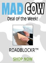 RoadBlockR is our Mad Cow Deal of the Week!  Read all about this wonder product and how you can dampen the noise in your life!