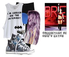 Commentary on Brie's Match by black-onyxx on Polyvore featuring Hudson Jeans and Converse