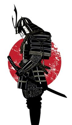 Images For > Samurai Mask Silhouette
