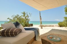 Spa in Mozambique View to the Indian Ocean from the beach gazebo at Casa Marjani private villa on Vamizi Island. The Coral Island, Luxury Holidays, Villa Holidays, Beach Villa, Luxury Accommodation, White Sand Beach, Luxury Villa, Trip Advisor, Backyard