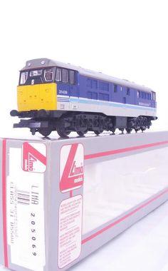 #MODELTRAINS #Ltd. Ed. #LIMA 205069 #OOgauge - BR #REGIONAL #RAILWAYS BLUE #CLASS31 #DIESEL #LOCOMOTIVE