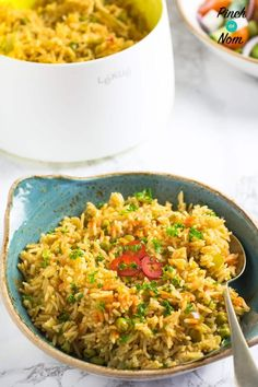 We love a BBQ, and this slimming friendly Mexican Rice is a quick, easy accompaniment – great if you're calorie counting or following Weight Watchers.