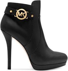 Michael Kors -Black short boots...