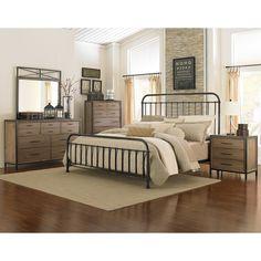 Have to have it. Shady Grove Metal Bed - Gun Metal - $729.99 @hayneedle
