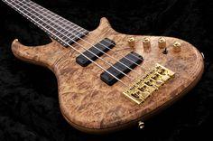 Hand Made Bass Guitars Guitar Rack, Cool Guitar, Bass Guitars, Acoustic Guitars, Electric Guitars, Custom Bass Guitar, Guitar Collection, Vintage Music, Vintage Guitars