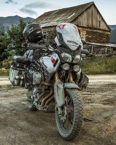 Enduro Motorcycle, Motorcycle Camping, Yamaha Motorcycles, Motorcycle Style, Camping Gear, Touring Motorcycles, Motorcycle Accessories, Adventure Gear, Adventure Tours