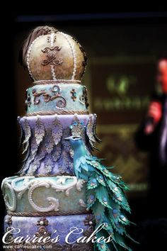 Couture Collection - Tanner - Carrie's Wedding Cakes