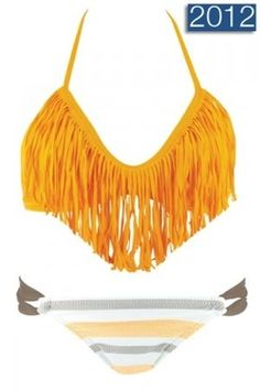 ifashiongirls:    orange fringe bikini (via Truly fashion, simply stylish | iFashionsBlog.com i Fashion Blog)