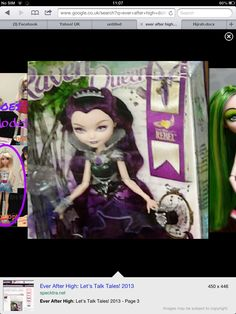 Raven Queen doll Ever After High