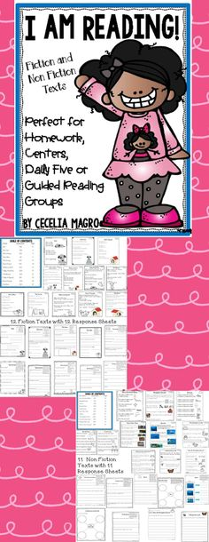 23 original first grade leveled reading passages and close reading activities perfectly aligned to Common Core Literature AND Informational reading standards! This pack could be used in a variety of ways - class-wide reading, homework, assessment, guided Close Reading Activities, Guided Reading Groups, Teaching Reading, Learning, Leveled Reading Passages, Reading Comprehension Passages, Non Fiction, Reading Workshop, Reading Homework