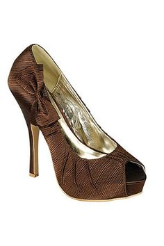 Chocolate Themed Wedding Brown Dress Shoes Stay At Home Mum
