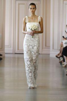 Oscar de la Renta Spring 2016   NY Bridal Week