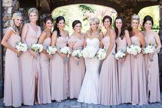 Pink Bridesmaid Dresses for a mountain wedding | Mountain Chic in Beaver Creek | COUTUREcolorado WEDDING: colorado wedding blog + resource guide