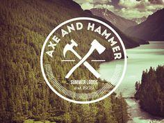 Axe an Hammer Logo Design