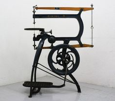 I would treasure this treadle saw! Very nice condition