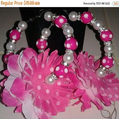 Hey, I found this really awesome Etsy listing at https://www.etsy.com/listing/521667535/hawaii-luau-pink-and-white-polka-dot