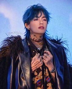Punk Edits, Bts Edits, Taehyung Fanart, V Taehyung, Bts Hairstyle, J Hope Tumblr, V Chibi, Bts Tattoos, V Bts Wallpaper