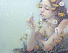 'Wish..' - Illustration byMiho Hirano - mdolla