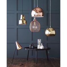 Light up the dark days of autumn #elloshome #lightning #copper