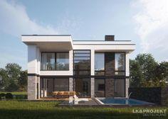 Finde moderne Häuser Designs: Dieses Haus wird Sie überraschen! Unser Entwurf LK&1308. Entdecke die schönsten Bilder zur Inspiration für die Gestaltung deines Traumhauses.